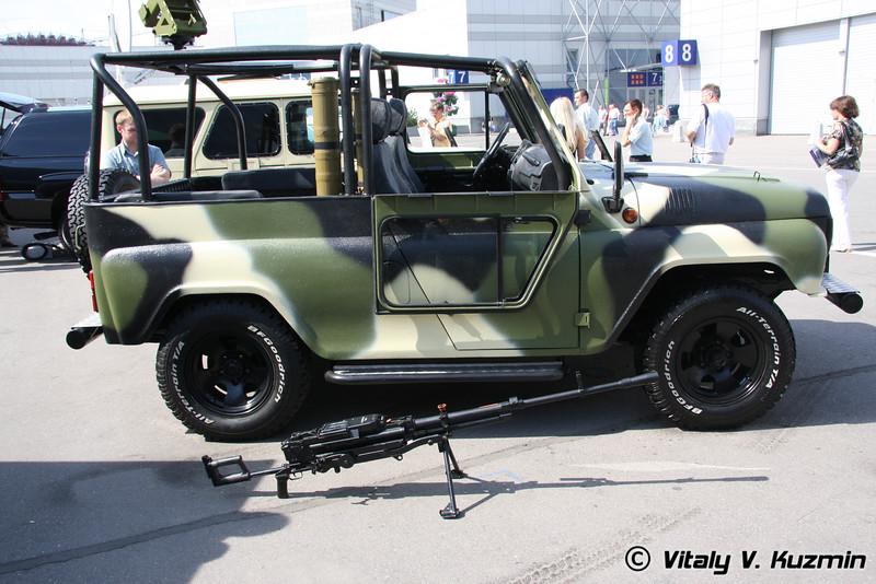 СБА Скорпион на шасси УАЗ -3151 (SBA Skorpion on UAZ-3151 chassis)