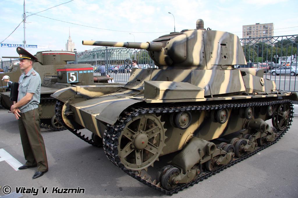 Танк Т-26 (T-26 tank)
