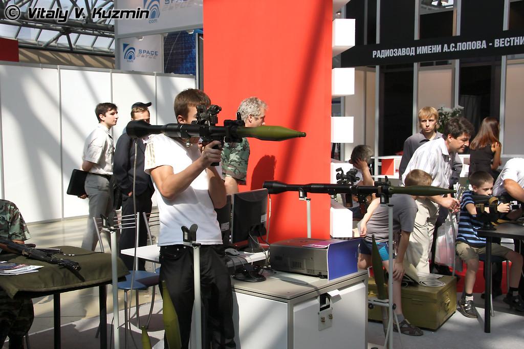 Тренажер РПГ (RPG simulator)
