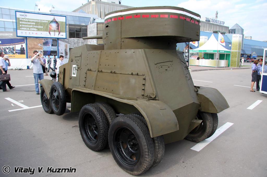 Бронеавтомобиль БА-6 (BA-6 armored vehicle)