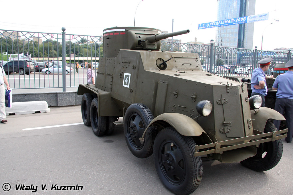 Бронеавтомобиль БА-6 (BA-6 armored vehicle)