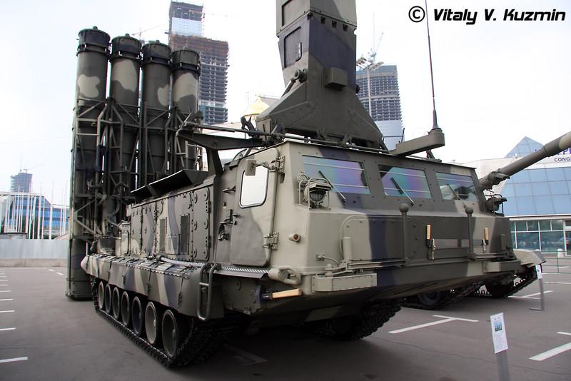 Пусковая установка 9А83 ЗРС С-300В (9A83 TELAR S-300V)