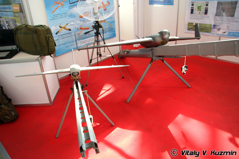 Эникс БПЛА Элерон-3 и Элерон-10 (Eniks section - Eleron-3 UAV and Eleron-10 UAV)
