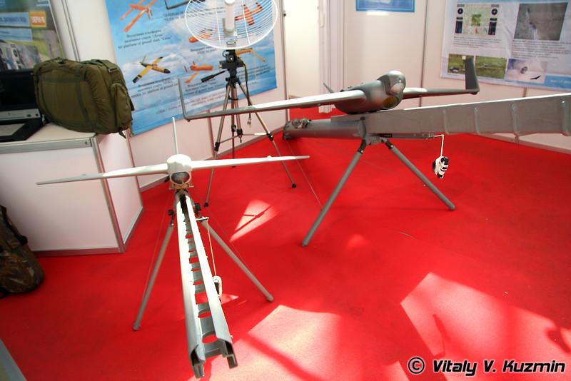 Эникс БПЛА Элерон-3 и Элерон-10 (Eniks section - Eleron-3 UAV and Eleron-10 UAV)