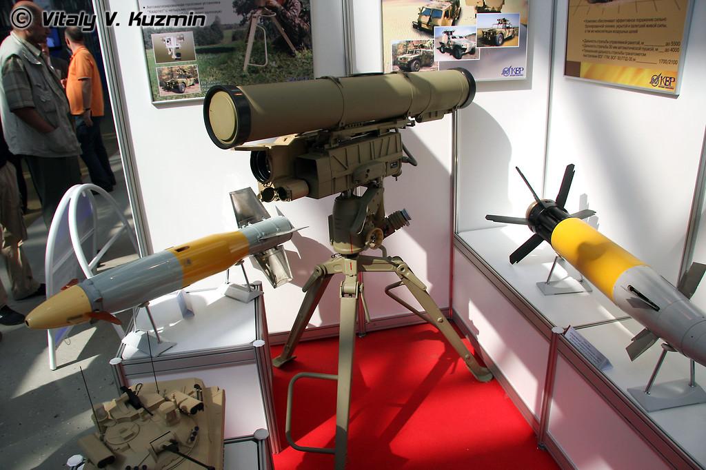 Корнет-Э и Краснополь-М2 (KBP Tula section - Kornet-E and 155mm Krasnopol-M2)