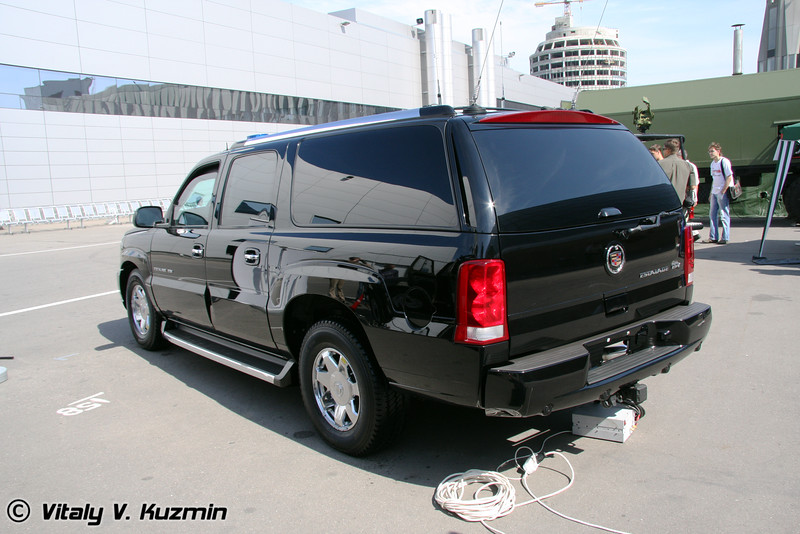 Armoured Cadillac Escalade