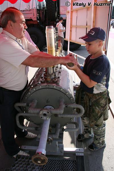 Мобильное производство утилизации боеприпасов (Mobile plant of ammunition demilitarization)
