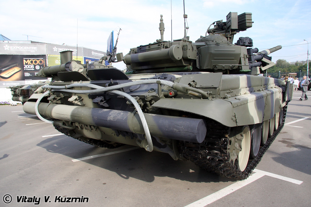 Т-90К (T-90K commander version)
