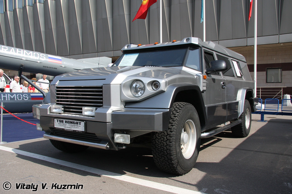 Бронеавтомобиль Т-98 Комбат (T-98 Combat armored vehicle)