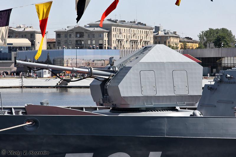 """Корвет """"Сообразительный"""" проекта 20380 (""""Soobrazitelniy"""" project 20380 Steregushchy class corvette)"""