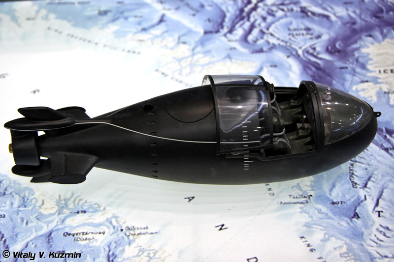 """Сверхмалая подводная лодка """"Тритон-1"""" (""""Triton-1"""" midget submarine)"""