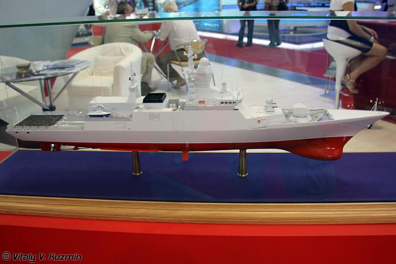 """Корвет проекта 20382 """"Тигр"""" (Project 20382 """"Tigr"""" corvette)"""