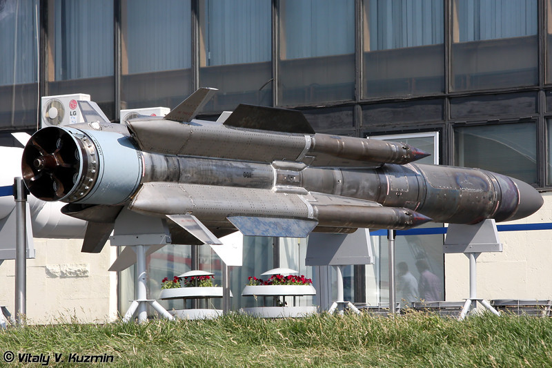 Авиационная противокорабельная ракета Х-31АД (Air-launched anti-ship missile Kh-31AD)