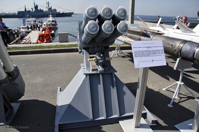 Пусковая установка ПУ-СК специализированного комплекса выстреливаемых помех КТ-308 (PU-SK launcher for KT-308 electronic warfare system)