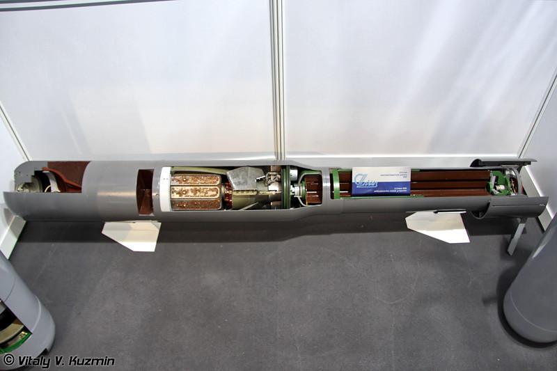 212-мм противолодочная ракета 90Р (212-mm antisubmarine missile 90R)