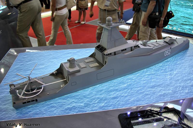 "Концептуальная модель корвета ""052"" (""052"" corvette concept)"