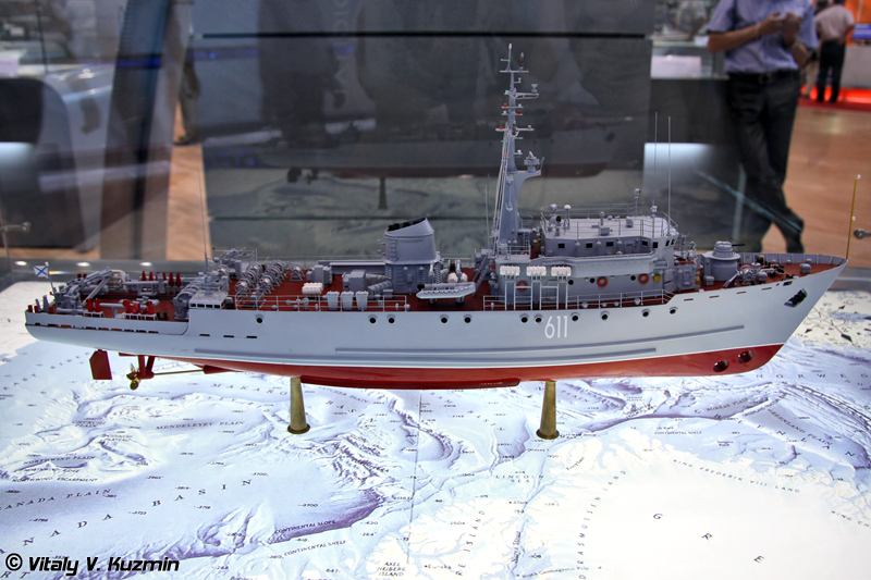 Морской тральщик проекта 266МЭ (Project 266ME minesweeper)