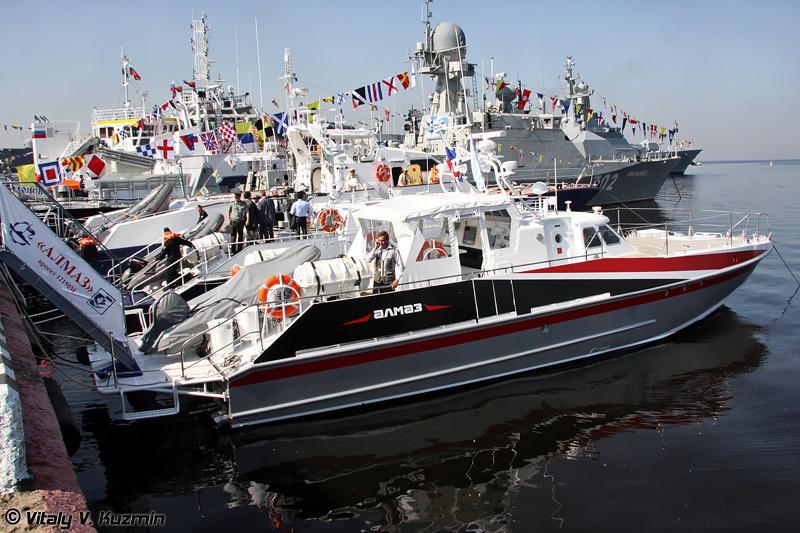 "Многоцелевой скоростной катер проекта 12150М ""Мангуст"" (Project 12150M Mangust multi-functional boat)"