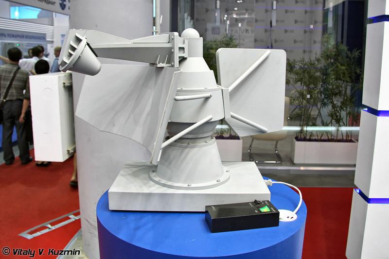 Корабельная радиолокационная станция целеуказания 3Ц-25Э (Target designation radar 3Ts-25E)