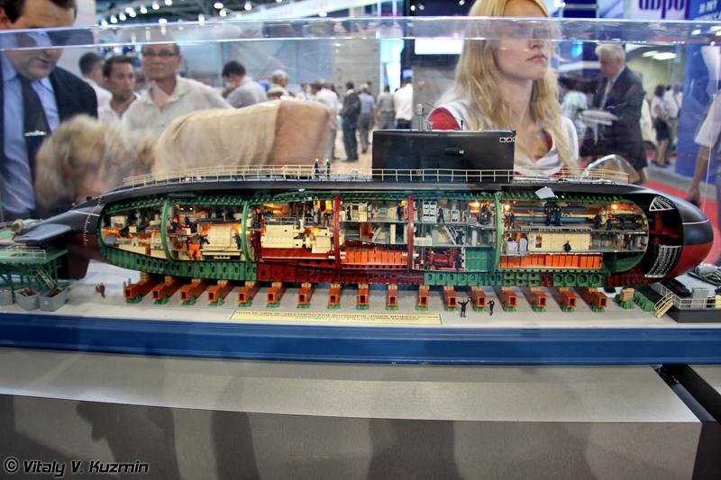 Дизель-электрическая подводная лодка проекта 877ЭКМ (Project 877EKM diesel-electric submarine)