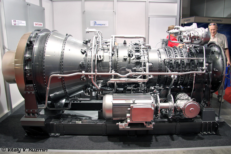 Морской газотурбинный двигатель М70ФРУ (Engine M70FRU)