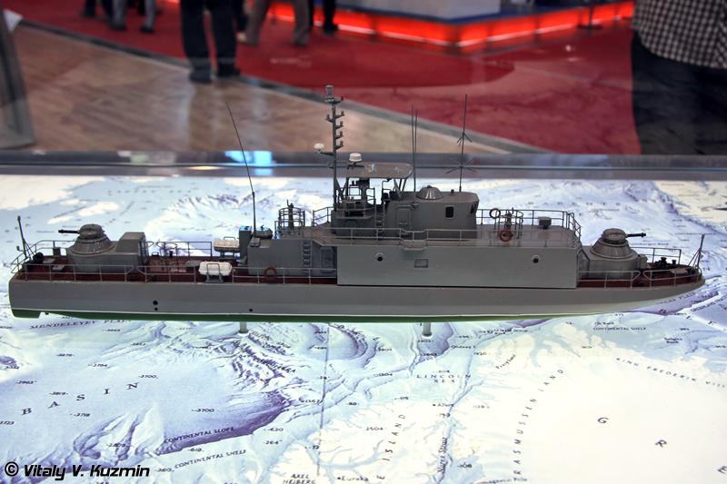 "Артиллерийский катер проекта 12130Э ""Огонек"" (Project 12130E ""Ogonek"" patrol boat)"