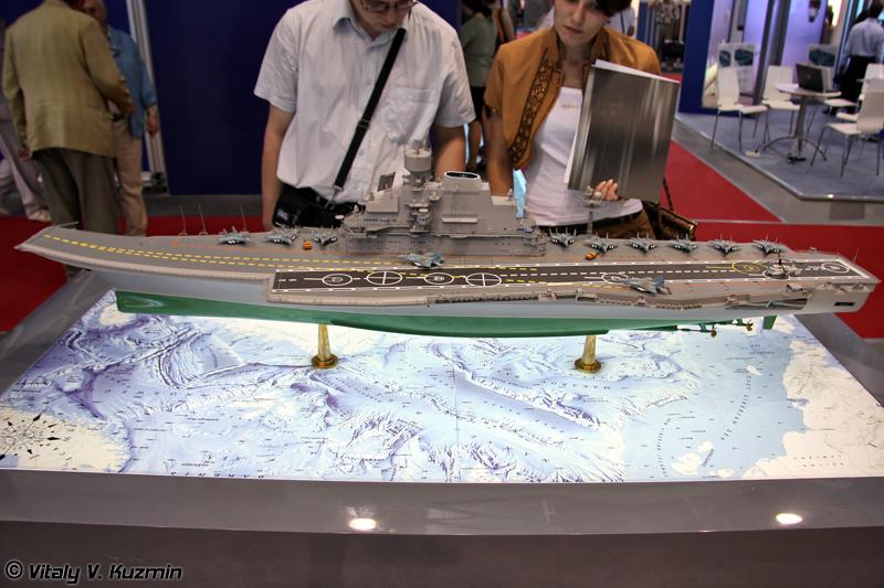 Тяжелый авианесущий крейсер проекта 11430 (Project 11430 heavy aircraft carrier)