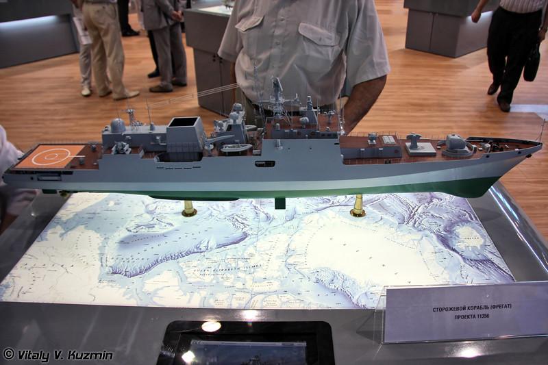 Фрегат экспортного проекта 11356 (Project 11356 frigate)