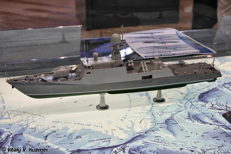 """Малый ракетно-артиллерийский корабль проекта 21632 """"Торнадо"""" (Project 21632 """"Tornado"""" corvette)"""