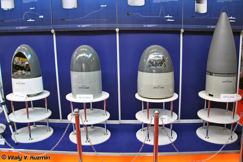 Активные радиолокационные головки самонаведения АРГС-35Э, АРГС-59Э, АРГС-14Э и АРГС-54Э (Active homing heads ARGS-35E, ARGS-59E, ARGS-14E, ARGS-54E)