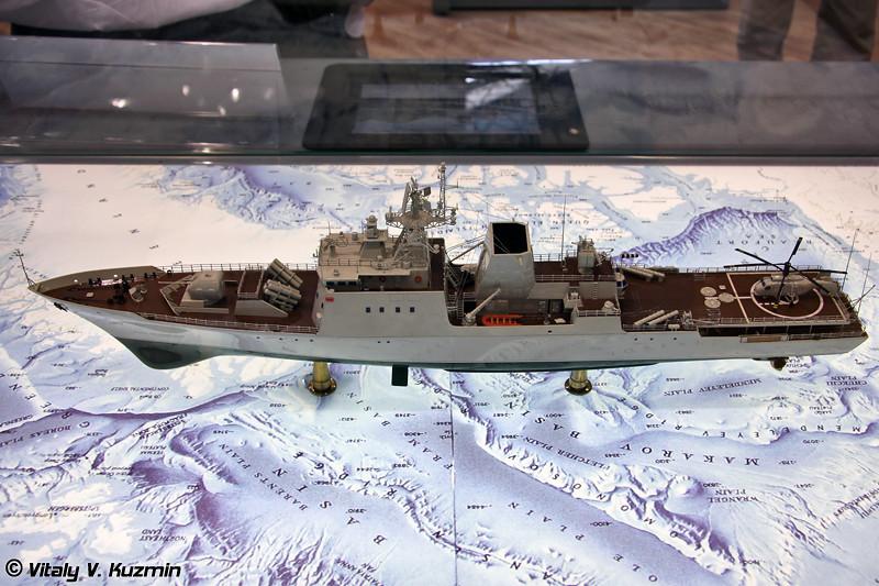 Корабль береговой охраны проекта СРК-2100 (Project SRK-2100 coastal defense ship)