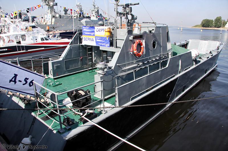"""Десантный катер """"Д-56"""" проекта 11770 """"Серна"""" (""""D-56"""" project 11770 Serna class landing ship)"""