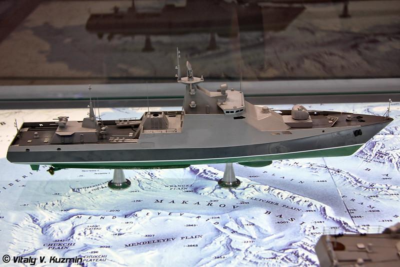 Малый противолодочный корабль проекта 1124М (Project 1124M anti-submarine corvette)