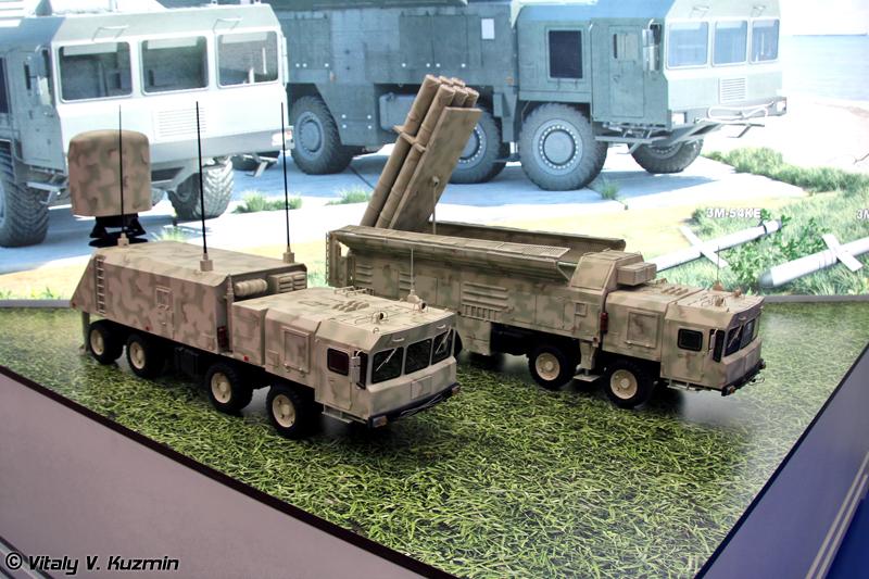 Береговой комплекс ракетного оружия Club-M (Coastal missile system Club-M)