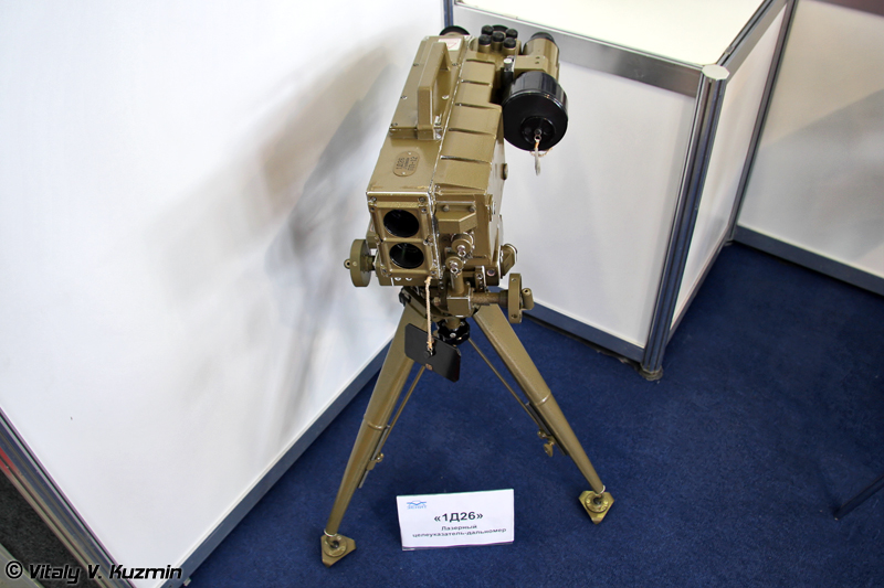 Лазерный целеуказатель-дальномер 1Д26 (Laser designator-rangefinder 1D26)