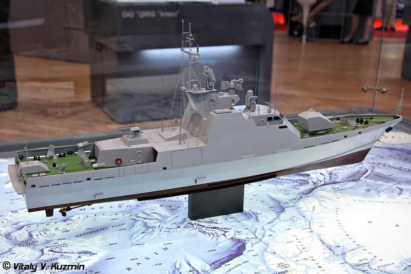 "Ракетно-артиллерийский катер проекта 12300 ""Скорпион"" (Project 12300 ""Skorpion"" corvette)"