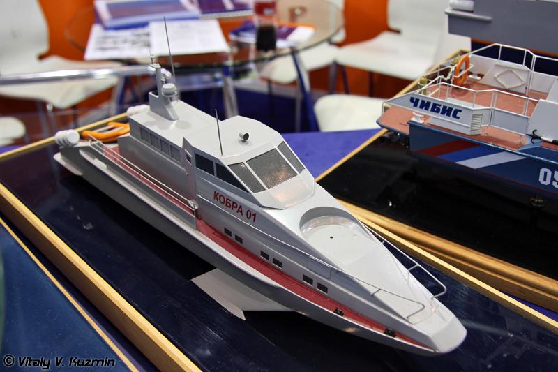 "Легкий скоростной катер ""Кобра-3"" (Light boat ""Kobra-3"")"