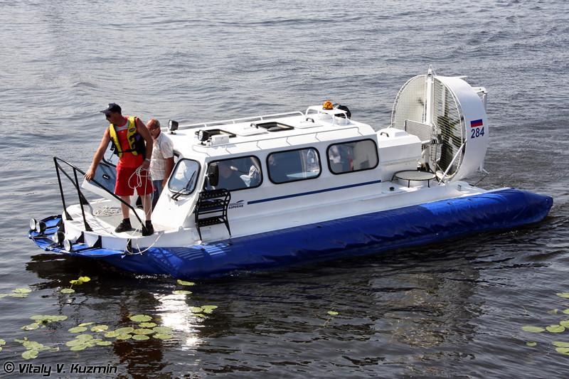 """Амфибийный катер на воздушной подушке """"Хивус-10"""" (""""Khivus-10"""" hovercraft)"""