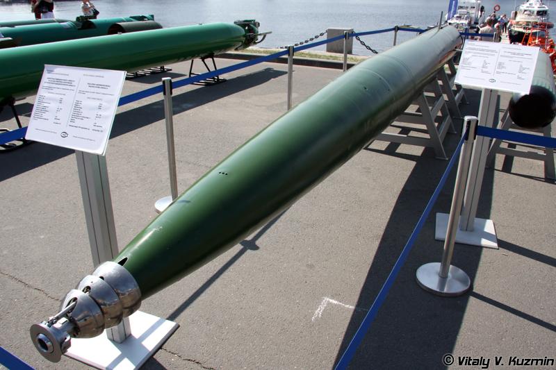 Скоростная подводная ракета Шквал-Э (High-speed underwater missile Shkval-E)