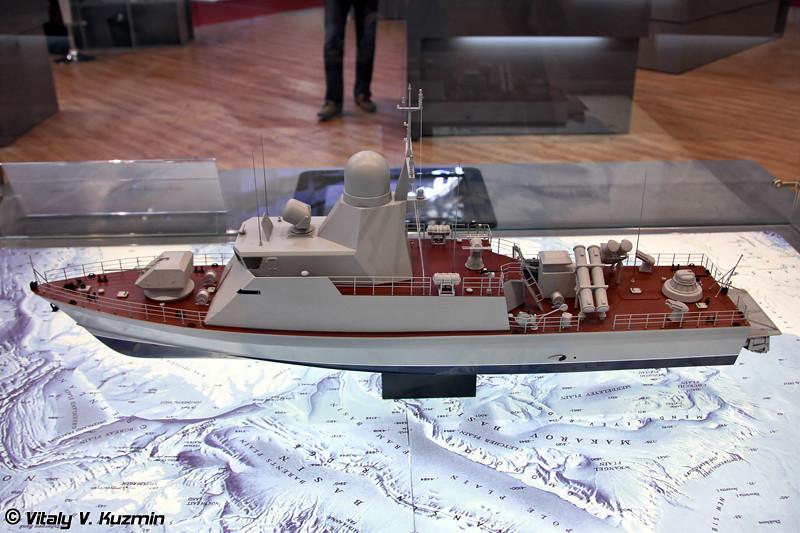 """Патрульный катер проекта 20970 """"Катран"""" (Project 20970 """"Katran"""" patrol boat)"""