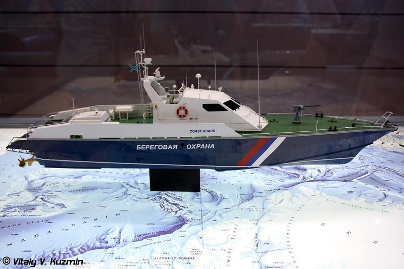 """Патрульный катер проекта 12200 """"Соболь"""" (Project 12200 """"Sobol"""" patrol boat)"""