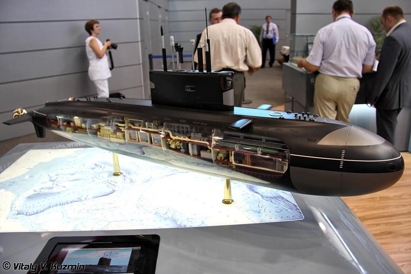 Большая дизель-электрическая подводная лодка проекта 636 (Project 636 diesel-electric submarine)