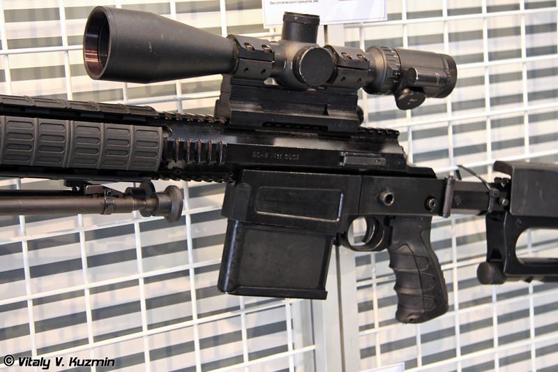 8,6-мм снайперская винтовка ВС-8 (8.6-mm sniper rifle VS-8)