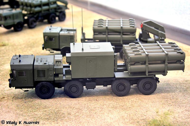 Береговой ракетный комплекс Бал-Э (Coastal missile system Bal-E)