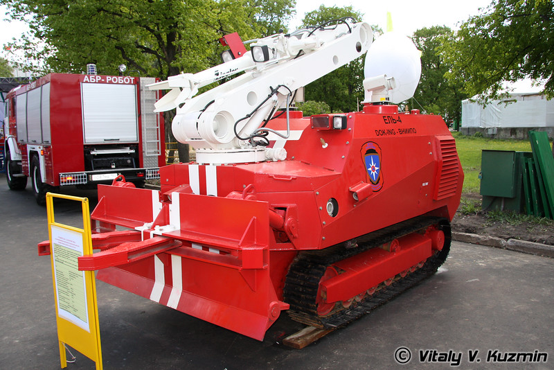 Ель-4 (El'-4 robot)