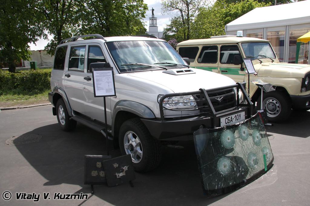 Бронеавтомобиль СБА-10У (SBA-10U armored vehicle)