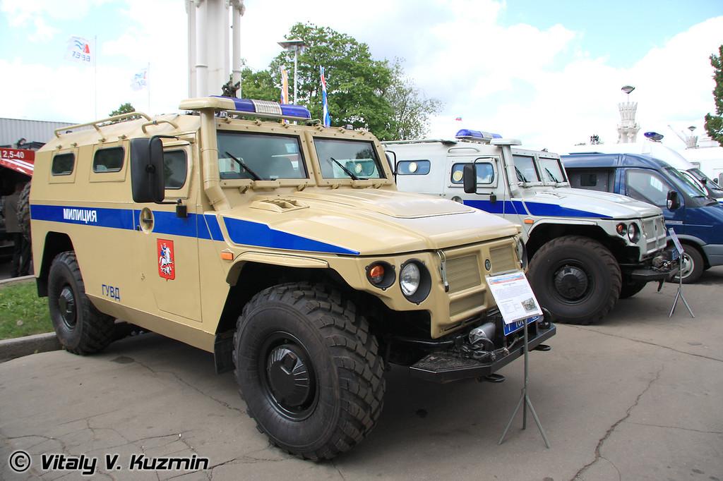 ГАЗ-233034 Тигр СПМ-1 (GAZ-233034 Tigr SPM-1)