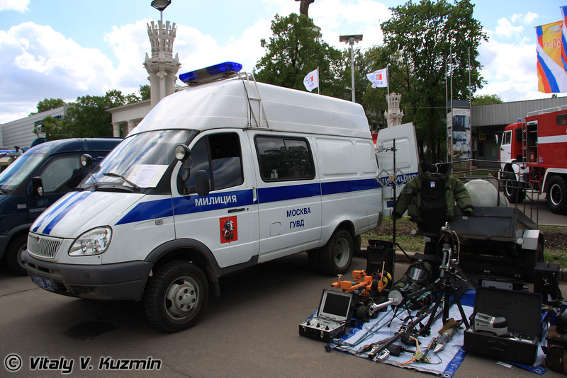 Инженерно-саперная Газель (EOD unit vehicle)
