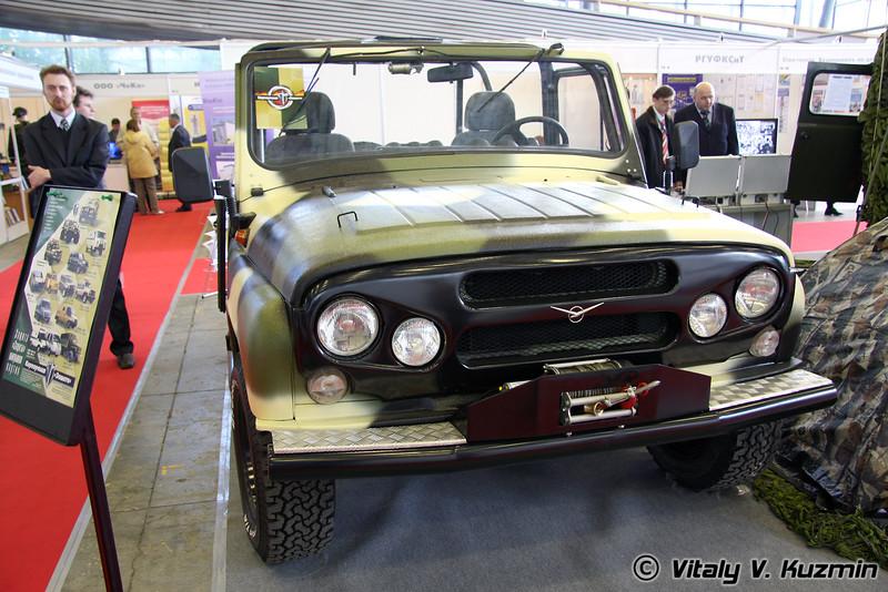 Автомобиль Скорпион на шасси УАЗ-3151 (Skorpion on UAZ-3151 chassis)