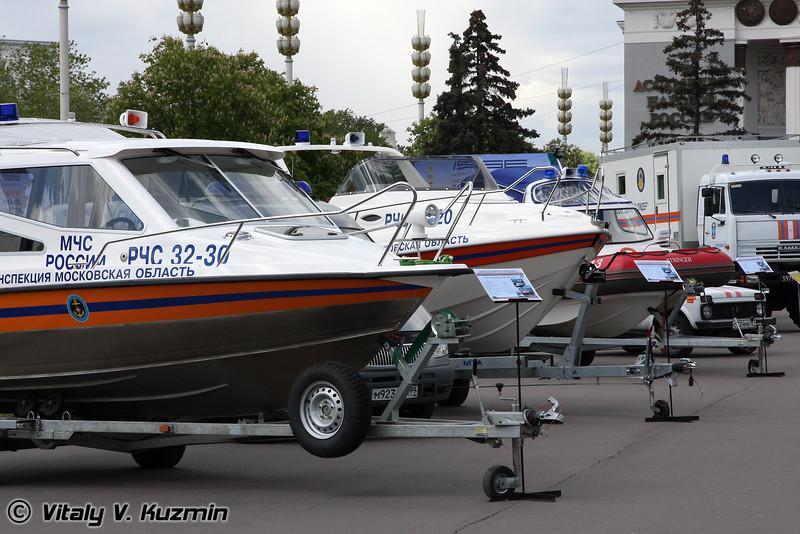 Катера МЧС (EMERCOM boats)